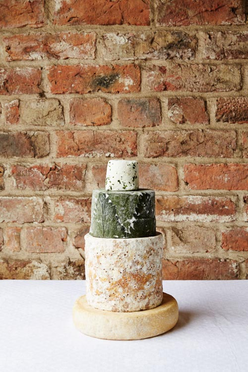 Lincolnshire Poacher Cheese Wedding Cake